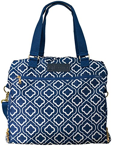 "Sarah Wells ""Lizzy"" Breast Pump Bag (Navy)"