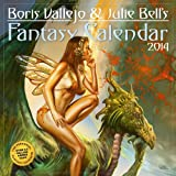 Boris Vallejo & Julie Bells Fantasy 2014 Calendar