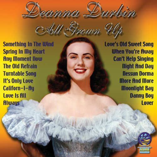 Original album cover of All Grown Up by Deanna Durbin