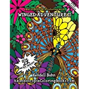 Winged Adventure II: A Kaleidoscopia Coloring Book