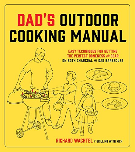 Dad's Outdoor Cooking Manual: Easy Techniques for Getting the Perfect Doneness and Sear on Both Charcoal and Gas Barbecues by Richard Wachtel