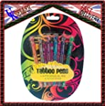 Body Tattoo Glitter Gel Pens And Sten...