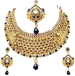 NITS Special Garba Collection Non-Precious Metal Chain Necklace Set for Women