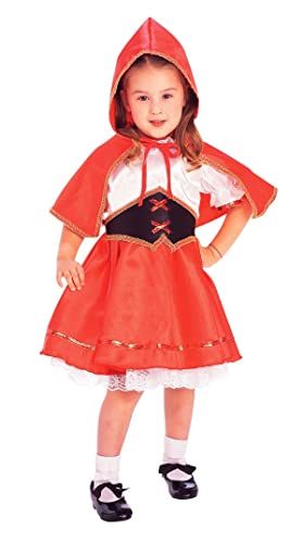 Girls Deluxe Little Red Riding Hood Costume - Toddler