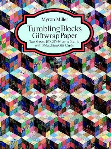 Tumbling Blocks Giftwrap Paper (Giftwrap--2 Sheets, 1 Designs)