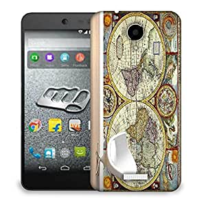 Snoogg White Chair Designer Protective Back Case Cover For MICROMAX Q416