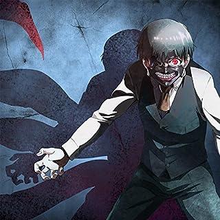 【Amazon.co.jp限定】東京喰種 アートキャンバス (金木 黒髪バージョンA)