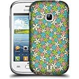 Samsung Galaxy Young S6310 , Pastel : Head Case Designs Pastel Ditsy Floral Patterns Hard Back Case For Samsung...