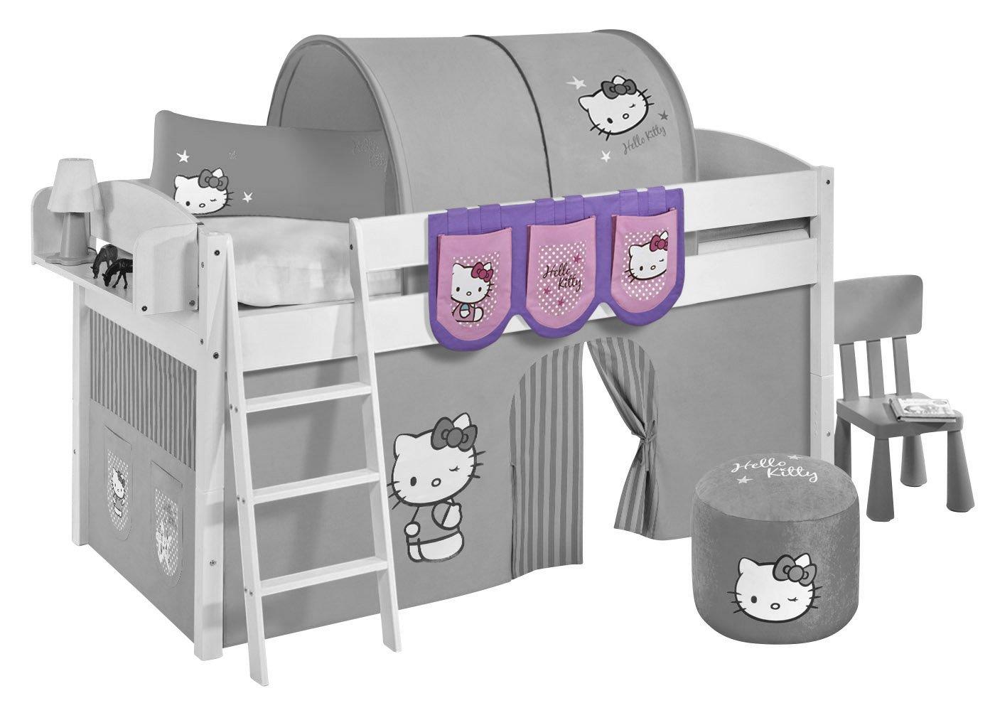 Hängetaschen Hello Kitty Lila Lilokids für Hochbett Spielbett und Etagenbett Violett jetzt kaufen