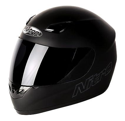 NITRO 187774XL02 Casque Moto Dynamo Uno Noir