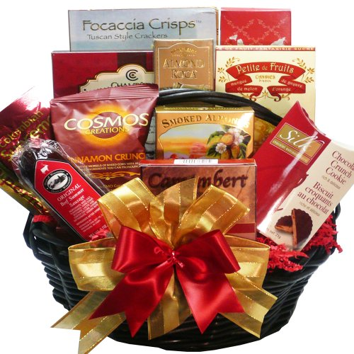 Art of Appreciation Gift Baskets Happy Times Gourmet Food Basket (Amazon Gifts For Men compare prices)
