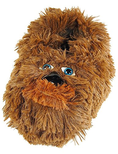 Star Wars - Little Boys Chewbacca Slippers, Brown 38203-L2-3 (Boys House Slippers compare prices)