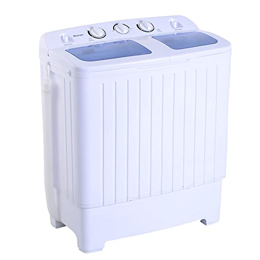 Giantex Portable Mini Compact Twin Tub 11lb Washing Machine Washer Spin Dryer - best top loading washing machine