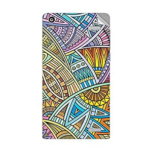 Garmor Designer Mobile Skin Sticker For XOLO A1000S - Mobile Sticker
