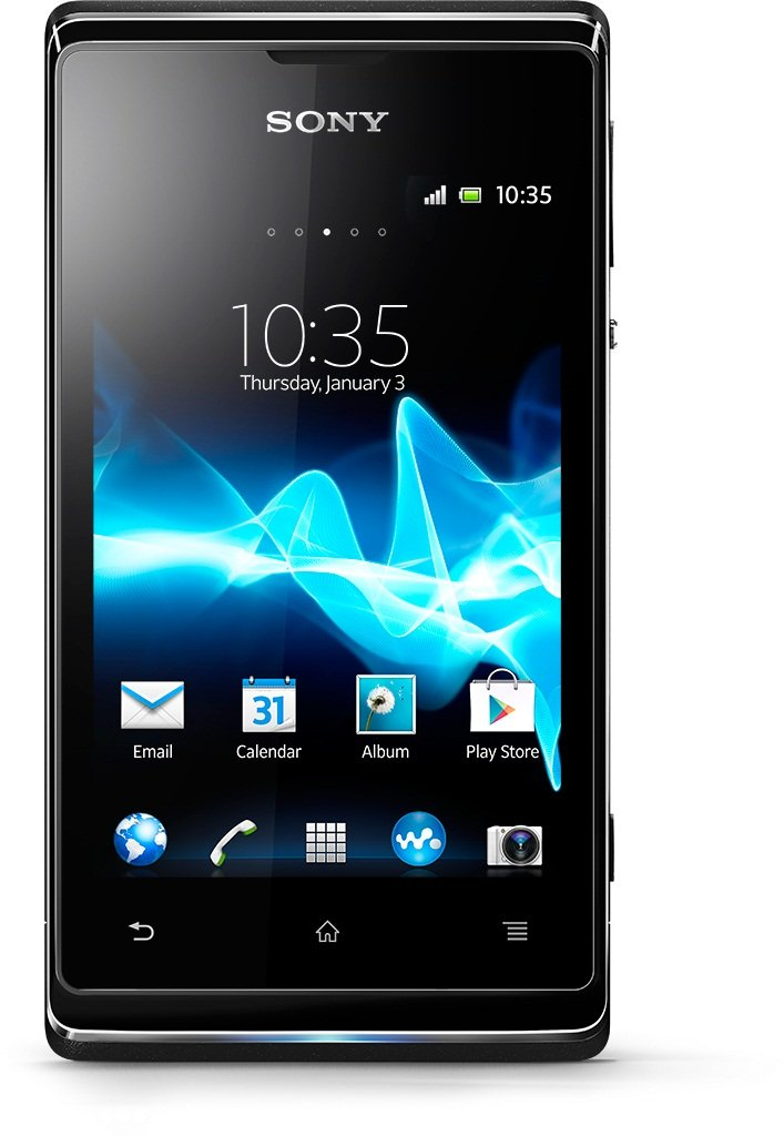 No Credit check Sony Xperia E  Dual-SIM Unlocked Android Phone--U.S. Warranty (Black)