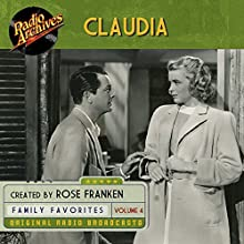 Claudia, Volume 4 Radio/TV Program by James Thurber Narrated by  full cast