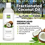 Fractionated-Coconut-Oil-Liquid-Large-16oz-WITH-PUMP-FREE-Recipe-eBook-Use-with-Essential-Oils-and-Aromatherapy-as-a-Carrier-and-Base-oil-Add-to-Roll-On-Bottles-for-Easy-Application