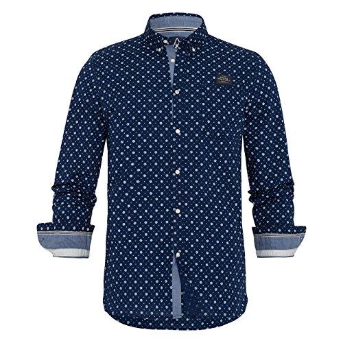 Gaastra -  Camicia Casual  - Uomo Navy Large