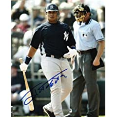 Buy Autographed Hand Signed Jose Tabata 8x10 Photo New York Yankees by Hall of Fame Memorabilia
