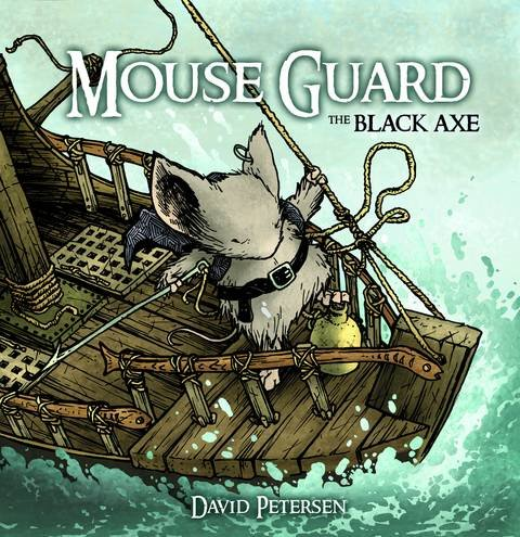 Download Mouse Guard: The Black Axe #2