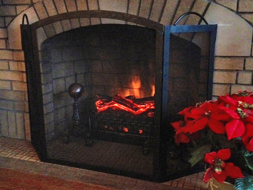 Duraflame Dfi020aru A004 Electric Fireplace Insert W Heater Gas Logs