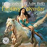 Boris Vallejo & Julie Bells Fantasy 2015 Calendar