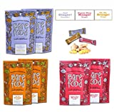 Barefood 100% Natural Chewy Ginger Candy Ginger Variety 6 Packs of 1.25oz