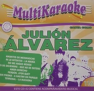 Julion Alvarez - Karaoke: Julion Alvarez - Exitos - Amazon.com Music