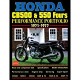 Honda cb500 & 550 fours: performance portfolio 1971-1977