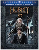 The Hobbit: Battle of the Five Armies (Extended Edition) (3D/BD/DV) [Blu-ray] from New Line Home Video