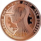The Guardian Bitcoin 1 Oz .999 Copper Commemorative Coin