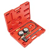 SUPERTOOLS TU-21 Petrol Engine Cylinder Compression Leak Detector Tester Gauge Tool Kit TP1199
