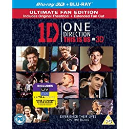 One Direction-This Is Us [Blu-ray]