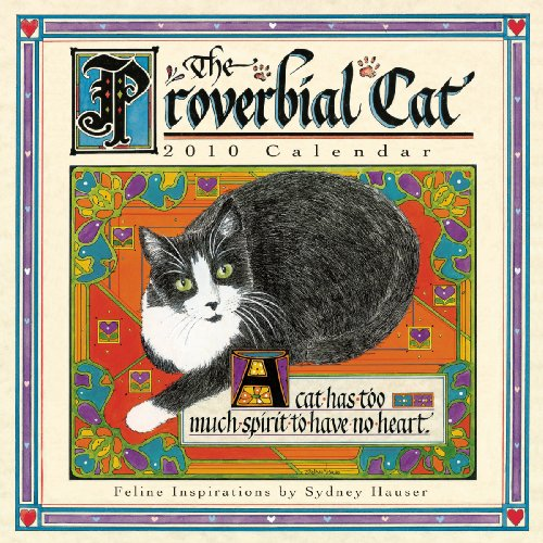 Proverbial Cat 2010 Mini Wall Calendar (Calendar)