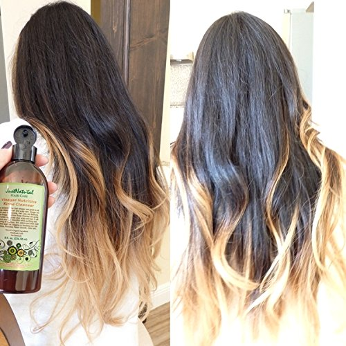 Just Natural Hair Care Vinegar Nutritive Rinse Cleanser