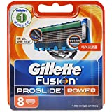 8 Gillette Fusion Proglide Power blades up to 26 weeks shaving 100% Genuine(Imported)