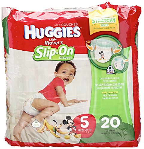 Huggies Little Movers Slip-On Diapers - Size 5 - 20 ct - 1