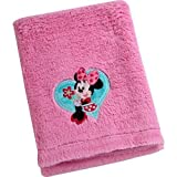 Disney Baby Minnie Mouse Cuddle Plush Blanket Disney Baby Bedding by Graco
