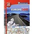Europe 2015 - Atlas Routier et Touristique (A4- Spirale)