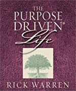 By Rick Warren - Purpose-driven Life: What on Earth Am I Here For? (Miniature Edition) (Running Press Miniatures) (New edition) (8.12.2003)