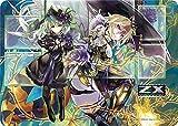 ラバープレイマット Z/X -Zillions of enemy X- 「百目鬼きさら&魔蜂姫ヴェスパローゼ」
