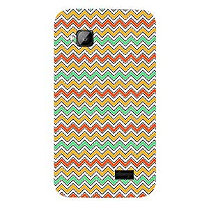 Skin4gadgets CHEVRON PATTERN 15 Phone Skin for MICROMAX S300