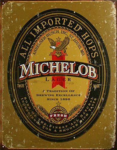 logo-michelob-apenados-retro-de-la-vendimia-muestra-de-la-lata