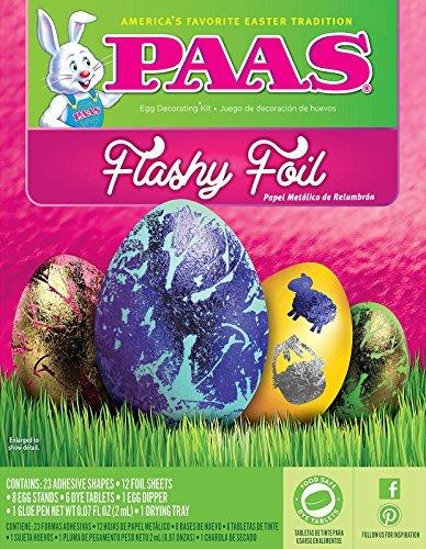 PAAS Flashy Foil Easter Egg Dye Kit - 1