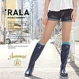 ●Amaort[アマート]正規品●RALA パッカブル レインブーツ突然のゲリラ豪雨でも安心★ 収納して持ち運べる!超便利な折りたたみレインブーツ(長靴)☆野外フェス/アウトドアにオススメ!