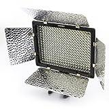 Yongnuo YN-300 LED Illumination Dimming Video Light for Canon 5D,7D,50D,60D,500D,550D,600D,1000D,1100D; Nikon D700,D300,D400,D200,D90,D60,D3,D2,D1,D7000,D5000,D3100,D3000; Olympus E620,E520,E510,E500,E420,E3,E1,E-P3,EP2,EPL-3,EPL-2; Panasnic LX5,GH1 GF1