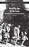 World War One British Poets: Brooke, Owen, Sassoon, Rosenberg and Others (Dover Thrift Editions)