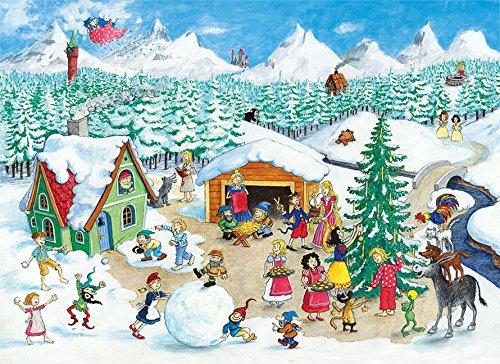 weihnachten im m rchenland ein poster adventskalender zum. Black Bedroom Furniture Sets. Home Design Ideas