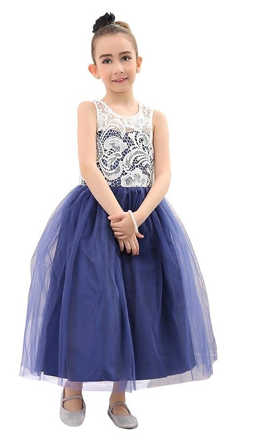 Bow Dream Flower Girl's Dress