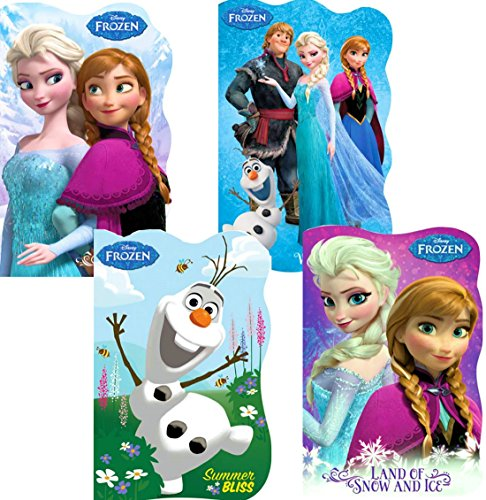 Disney® Frozen Board Books (Set of 4 Shaped Board Books) - 1